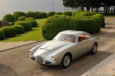 <p>1954-58Alfa Romeo 1900 Super Sprint Zagato Coupe</p>