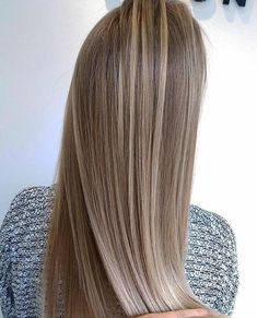 168 trendy hair color ash ombre hairstyles – page 3 Brown Blonde Hair, Light Brown Hair, Balayage Hair, Ombre Hair, Bronde Hair, Ash Ombre, Hair Highlights, Highlights With Lowlights, Dyed Hair