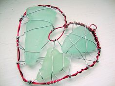 Seaglass Cage Necklace