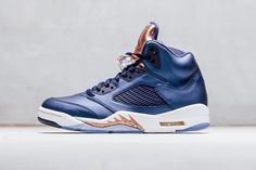 """The Air Jordan 5 Returns in a """"Bronze"""" Colorway"""