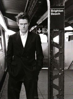 """The worst thing is to get involved with people who aren't passionate about what they're doing. "" - Willem Dafoe"