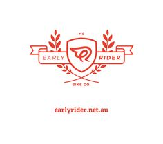 Clever Early Rider logo from Amoeba Balance Bike, Family Crest, Crests, Identity, Clever, Design Inspiration, Branding, Logos, Badges