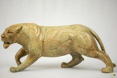 Butter Jade Stone Lion Sculpture - Zimbabwe Stone Lion, Exotic Cats, Jade Stone, Zimbabwe, Lion Sculpture, Butter, Statue, Ebay, Art