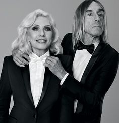 Debbie Harry & Iggy Pop