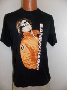 1990's Sammy Hagar Concert Tour Mens T by PfantasticPfindsToo