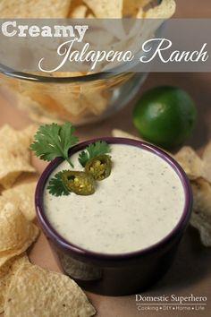 Creamy Jalapeño Ranch looks the best