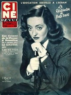 Magazine photos featuring Bette Davis on the cover. Bette Davis magazine cover photos, back issues and newstand editions. Star Magazine, Movie Magazine, List Of Magazines, Vintage Magazines, Bette Davis Eyes, Betty Davis, Film Genres, Foreign Movies, Old Hollywood Stars