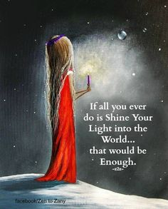 #empath Be a spark and light the way.
