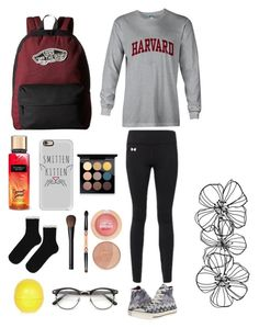 """""""Hello There"""" by nerdgirl18 ❤ liked on Polyvore featuring Under Armour, Converse, Vans, Casetify, Topshop, MAC Cosmetics, NARS Cosmetics, Maybelline, River Island and nerdgirl18"""