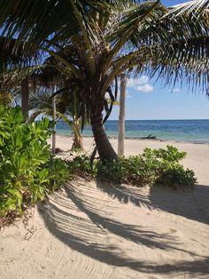 Costa Maya, Mexico.  Had so much fun riding ATV's on this beach!