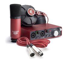 Interface audio FOCUSRITE SCARLETT STUDIO