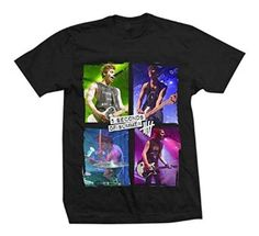 5SOS fans will love this Live Color 5 Seconds of Summer t-shirt. #5SOS