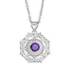 KP010 - Beaded Filigree Pendant   Kameleon Jewellery - Canada