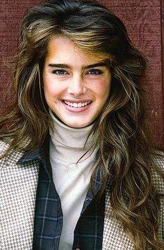 Brooke Shields had the best hair.