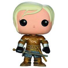 """Brienne of Tarth est un personnage des romans """"A song of ice and fire"""" et de la série """"Game Of Thrones"""". Apparaissant en cours de saison 2 comme personnage secondaire, elle..."""