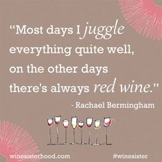 """For all of those """"other"""" days, pass the red..."""