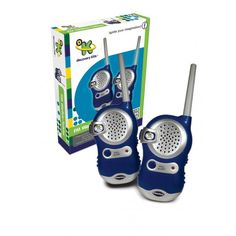 The Discovery Kids FM Walkie Talkies are a great fun way for kids to learn about the world around them. Tough and sturdy the Discovery Kids FM Walkie Talkies are a sure fire winner Buy Toys, Toys Shop, Children's Toys, Science Toys, Science For Kids, Discovery Kids Toys, Discount Toys, Kids Toys Online, Kitchen Sets For Kids