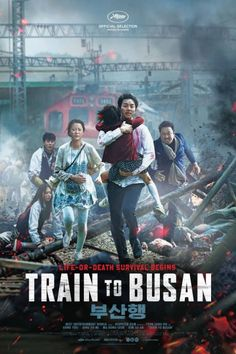Train to Busan (w)Action Horror Thriller. A man (Gong Yoo), his estranged daughter and other passengers become trapped on a speeding train during a zombie outbreak in South Korea. Gong Yoo, Romance Movies, Drama Movies, Drama Film, Train To Busan Movie, Train Movie, Movies To Watch, Good Movies, Best Zombie Movies