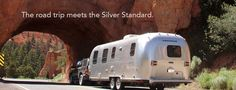 Airstream 2 Go - Airstream rental  comes with SUV. The 23-footers sleep four, the 28-footers handle six.