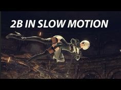 all moves in Slow Motion - NiER: Automata Learn Animation, Animation Reference, Nier Automata, Cool Animations, Cool Drawings, Animated Gif, 3d Modeling, Illustration, Action