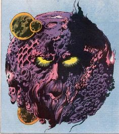 Ego, by Jack Kirby Marvel Art, Marvel Heroes, Captain Marvel, Marvel Comic Character, Comic Book Characters, Marvel Characters, Comic Books, Cosmic Comics, Comics