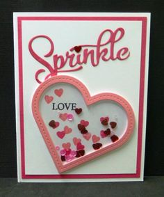 *DTGD14 Sprinkle LOVE by hobbydujour - Cards and Paper Crafts at Splitcoaststampers