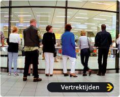 Passagiers snel wegbrengen - Schiphol