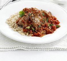 Lamb Steaks With Spiced Tomato Sauce Recipe on Yummly