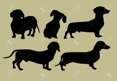 Images For > Wiener Dog Silhouette
