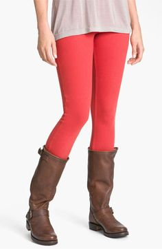 ******Hue Denim Leggings available at #Nordstrom  Colors: med grey, shitake, deep burgundy, chili  Size: m