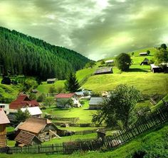 Bucovina ,Romania world The Places Youll Go, Places To See, Visit Romania, Hillside Landscaping, Beautiful Places To Visit, Amazing Places, Dream Vacations, Places To Travel, Countryside