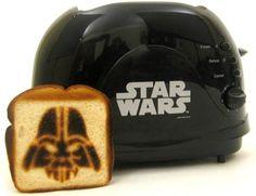 Darth Vader Toaster. Hahahahaha! ;D