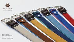 Cinturones piel nobuk y lona + nobuk. Nubuck leather and canvas belts + nubuck. Primavera-Verano 2.015. Spring-Summer 2015.
