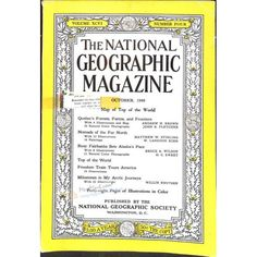 National Geographic Magazine, October 1949 | $0.96