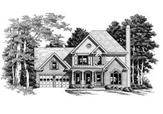 Brooklyn - Home Plans and House Plans by Frank Betz Associates
