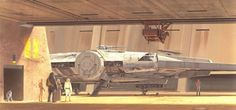 Ralph McQuarrie's Classic Concept Art Continues to Influence the New Star Wars Trilogy