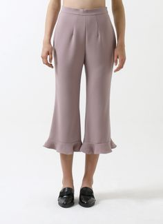 Bobobobo: Lilac Le Soleil Ruffle Pants, CDC The Label