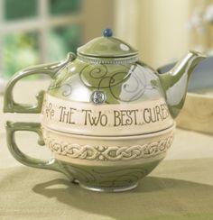 tea pot and cup.