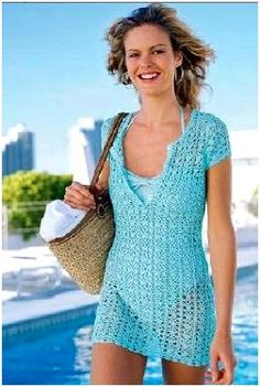 βελονάκι φόρεμα - crochet top inspiration