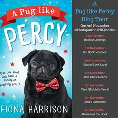 "Today is my turn of the blog tour for ""A Pug Like Percy"". We have a fab extract from the book, which I am currently reading just now, so ..."