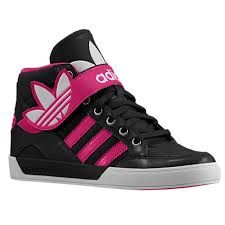 Pink and Black Strap Addidas