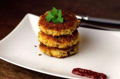 Veggie Patty Rice & Cheese