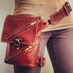 Steampunk Hip Bag for OrionsOrbit
