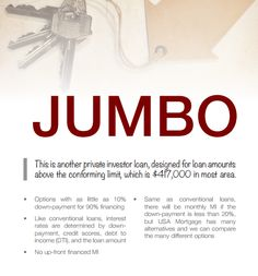 Jumbo Home Loans