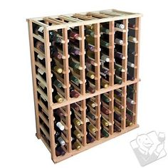 Designer Wine Rack Kit - 6 Column Half Height - Wine Enthusiast
