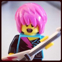 eLogic Lego People, David Bowie, Princess Peach, Rock, Instagram Posts, Musica, Stone, Rock Music, The Rock