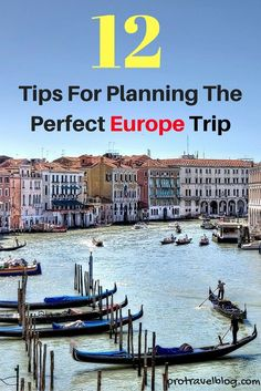 Want to make your Euro trip an unforgettable experience?? It all starts with careful planning. Here are my best 12 tips on planning the perfect trip to Europe!