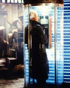 Rutger Hauer as Roy Batty in Ridley Scott's Blade Runner (1982)