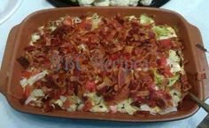I bet this one doesn't last long!  BLT Dip To SAVE this recipe, be sure to click SHARE so it will store on your personal page. Ingredients:... 1-1/2 pound bacon, cooked, drained, crumbled, and divided 2 cups shredded mozzarella cheese 2 (8-ounce) packages cream cheese, softened 1/2 cup sour cream 1/4 cup mayonnaise 1 cup cheddar cheese (shredded) or to taste 1/2 teaspoon Italian seasoning 1/2 teaspoon garlic powder (or to taste) 1 tablespoons mustard 2 cups chopped seeded tomatoes 1-1/2 cup…