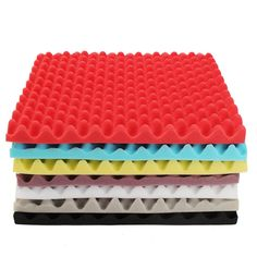 500×500×50mm Square Insulation Reduce Noise Sponge Foam Cotton -7 Colors